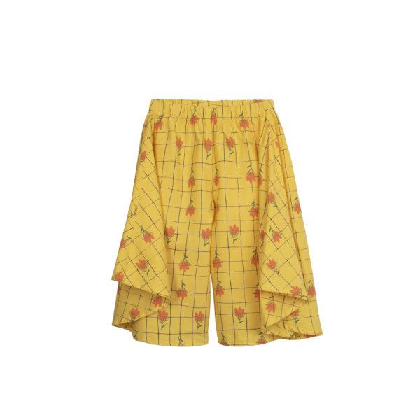 flowers wide pants