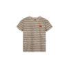 striped t-shirt pale peach