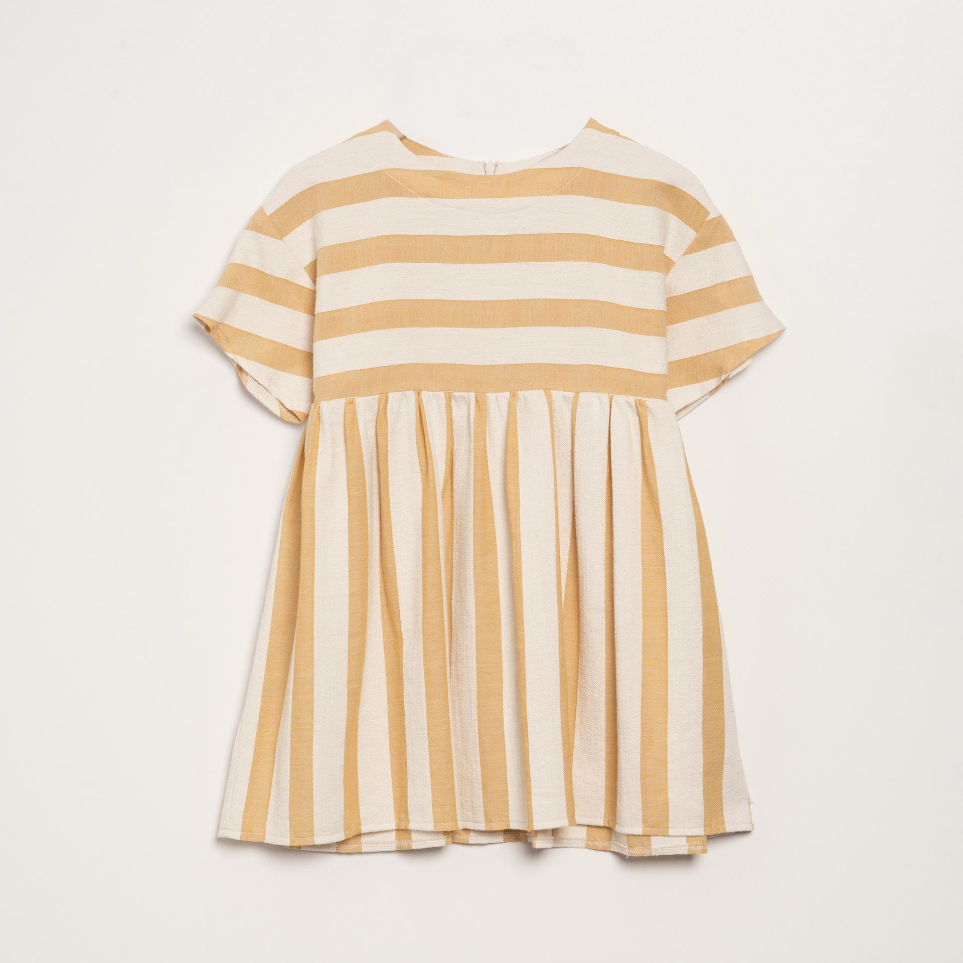 STRIPED YELLOW DRESS