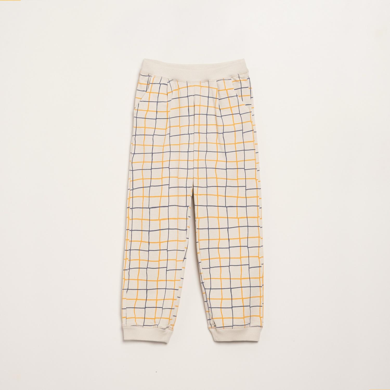 SQUARES CHINO PANTS